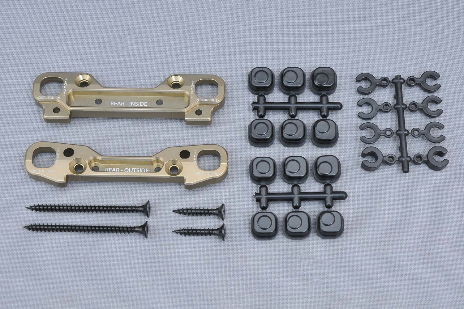 MCD Racing Rear Wishbone Holder Set Alloy (Opt.).1pc #300303A