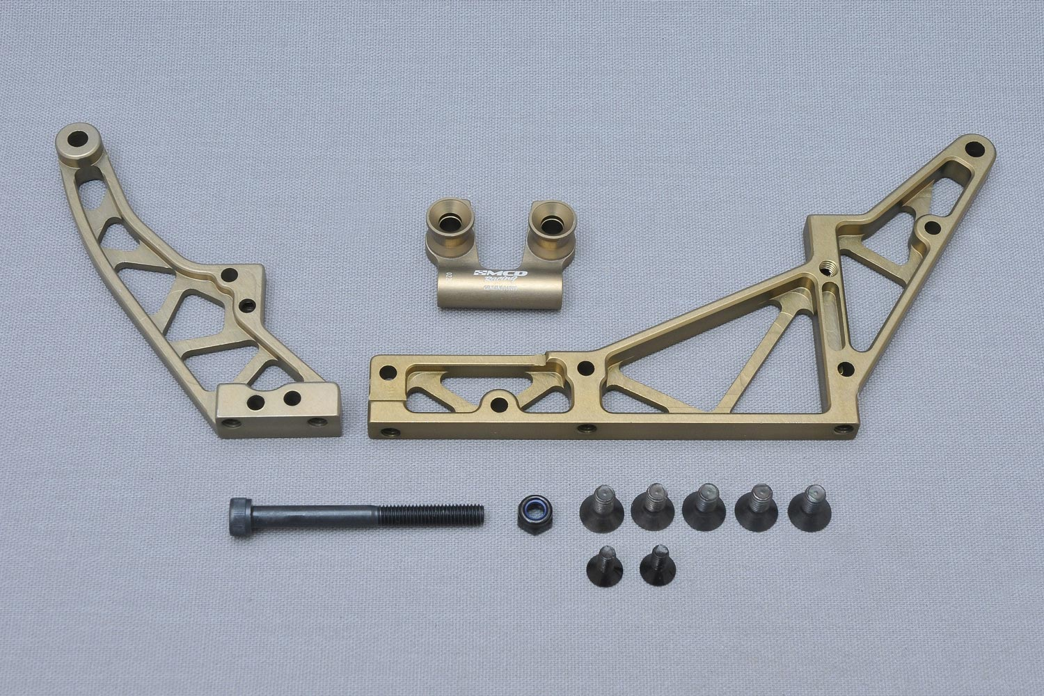 MCD Racing Alloy Rear Chassis Stiffener Set.