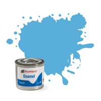 Humbrol Enamel Paint No 47 Sea Blue Gloss. 14ml