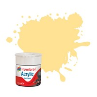 Humbrol EWS Yellow RC419 14ml Acrylic Rail Paint. 14ml