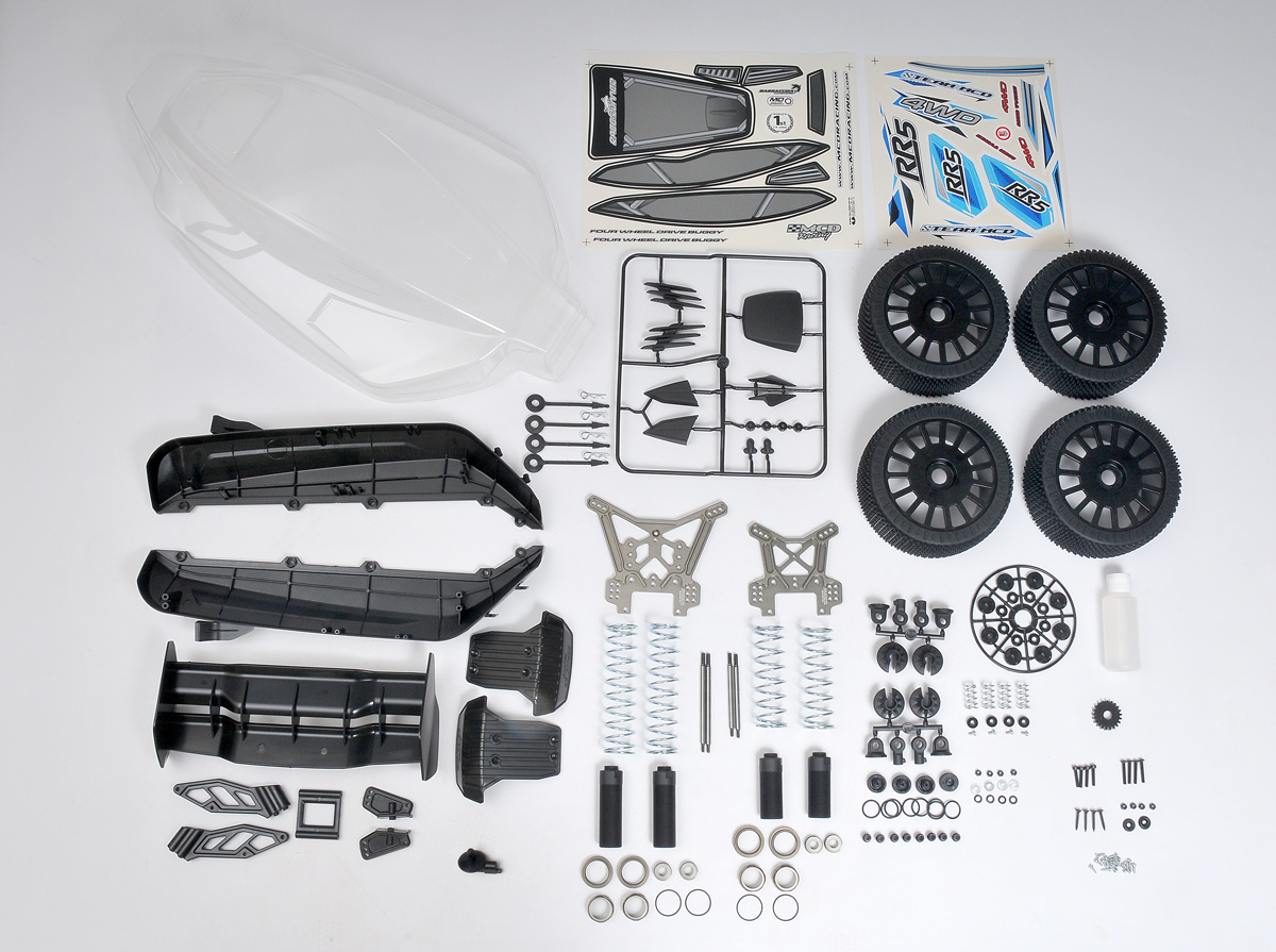 MCD Racing XS5 / XR5 Rally to RR5 FT Spec Conversion Kit. #925201X