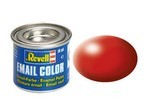 Revell Fiery Red - Silk Enamel Paint. 14ml #330