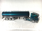 Wedico 1/16th Mercedes Actros 1843 Ltd. Edition Prismatic Blue/Green with Tanker Trailer