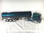 Wedico 1/16th Mercedes Actros 1857 Ltd. Edition Prismatic Blue/Green with Tanker Trailer