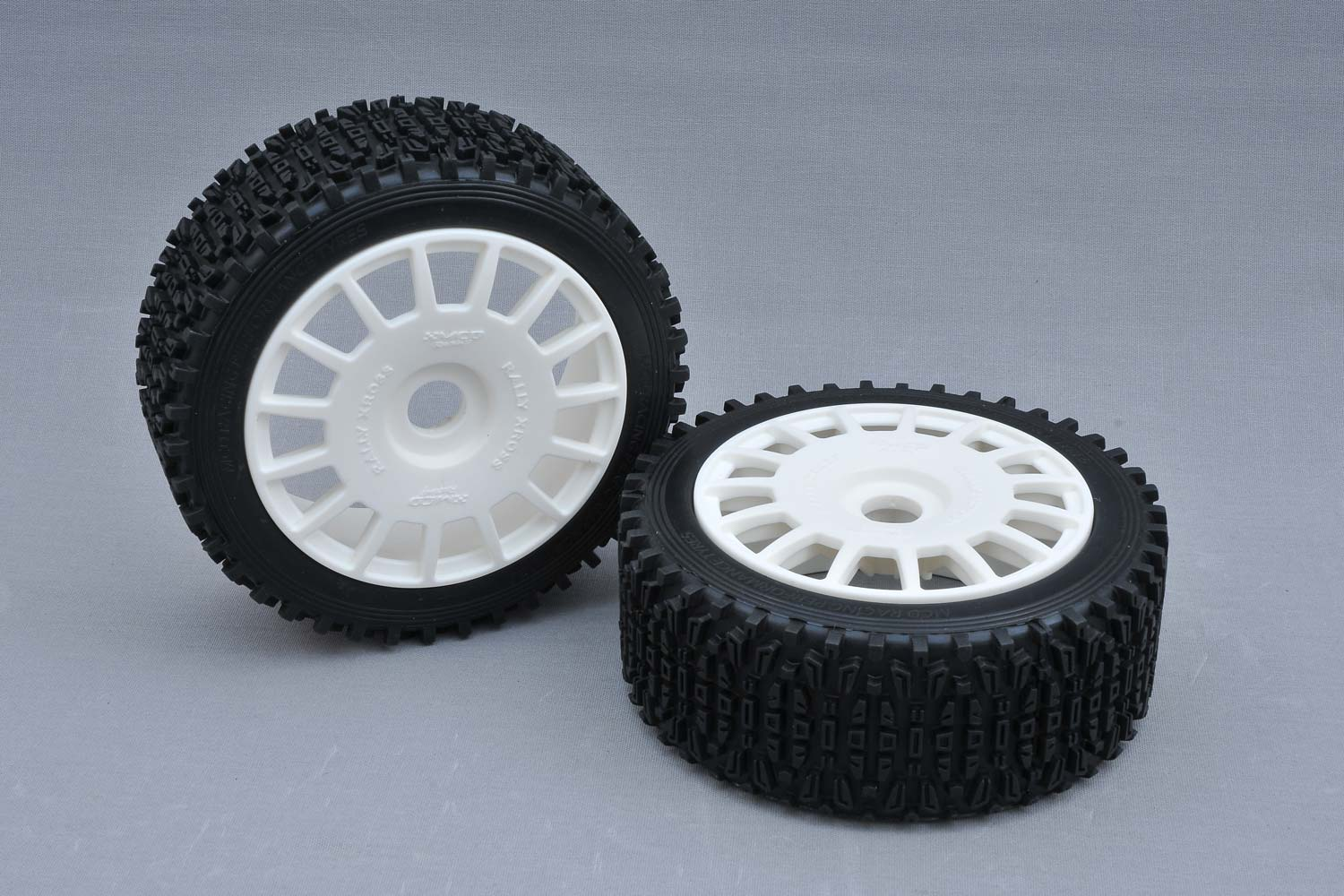 MCD Racing 160mm Dirt-Xross Rally Tyres (BM) with inserts. 1pr