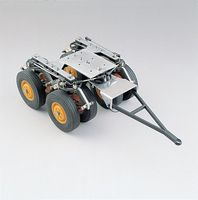 Wedico Tandem front axle. low-loader. steerable. #110