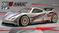 MCD Racing XS5 Supercar MAX Pro FT-R Spec. - Rolling Chassis