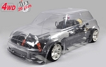 FG Sportsline 510mm 4WD chassis + Trophy clear body