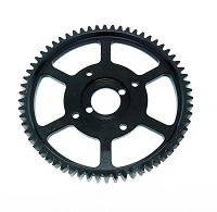 MCD Racing Steel Center Spur Gear 62T for Competition Models. 1pc