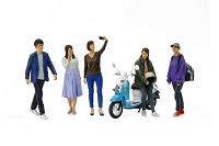 Tamiya 1:24 Campus Modern Friends Set II #24356