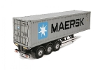 Tamiya 40 Foot Container 'Maersk' Semi Trailer 1/14 Scale Kit #56326