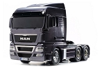 Tamiya Man TGX XlX 26.540 6X4 - Gun Metal Edition 1/14 Scale Truck Kit #56346