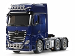 Tamiya Mercedes Benz Actros 3363 6X4 - Pearl Blue Edition 1/14 Scale Truck Kit #56354