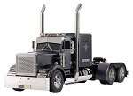 Tamiya Grand Hauler - Matt Black Edition 1/14 Scale Truck Kit #56356