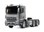 Tamiya Mercedes Benz Arocs 3363 6X4 Classic Space - Light Gun Metal Edition 1/14 Scale Truck Kit #56359