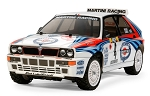 Tamiya Lancia Delta Integrale (TT-02 Chassis) - 1/10 Scale Assembly Kit #58570