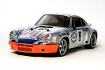 Tamiya Porsche Carrera RSR Martini (TT-02 Chassis) - 1/10 Scale Assembly Kit #58571