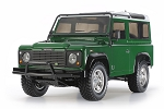 Tamiya Land Rover Defender 90 (CC-01 Chassis) - 1/10 Scale Assembly Kit #58657