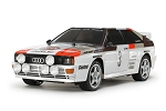 Tamiya Audi Quattro A2 Rally (TT-02 Chassis) - 1/10 Scale Assembly Kit #58667