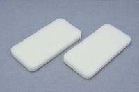 MCD Racing Air Box White Replacement Foam For Dry. 2pcs