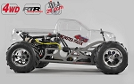 FG 4WD RTR Monster Truck 535mm. Clear