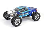 FTX Carnage 2.0 1/10 Brushed 4WD Truck - Blue - RTR W/Nimh & Charger #FTX5537B