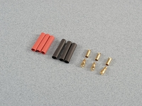 3.5mm Gold Connector Set. 3prs
