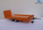 Wedico 1/16 Drop Deck Trailer Kit with Beaver Tail Ramp. #25