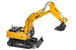 Huina Excavator 11 Channel 1/16 Scale w/Die Cast Bucket #1510