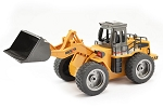 Huina Bulldozer 6 Channel 1/18 Scale w/Die Cast Bucket #1520