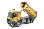Huina Tipper/Dump Truck 10 Channel 1/14 Scale w/Die Cast Cab, Buckets And Wheels #1573