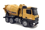 Huina Cement Mixer Truck 10 Channel 1/14 Scale #1574