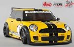 FG Sportsline 510mm 4WD RTR + Trophy body (yellow)