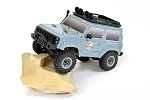FTX Outback Mini 2.0 - Paso (Grey) 1/24 Trail Rock Crawler 4X4 - RTR w/Battery & Charger #FTX5508GY