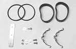Samba Exhaust Double Mount Kit for TLR 5B Pipe #4809