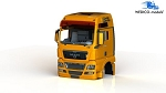 Wedico MAN TGX XXL-V8 Cab. Orange. #868