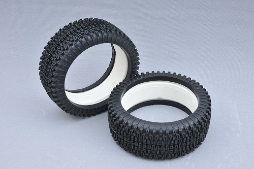MCD Racing Medium (BM) Dirt-Xross Tyre and Foam. 2pcs