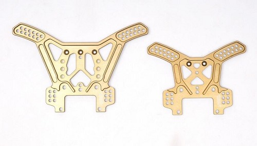 MCD Racing RR5 Front and Rear Alloy Multi-Hole Shock Tower Set.