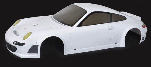 FG Body-Set Porsche GT3 RSR 4WD. White
