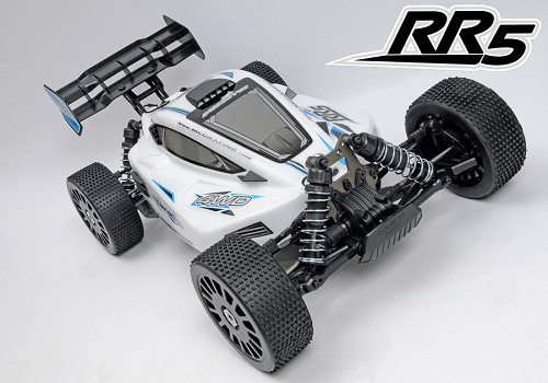 MCD RR5 Buggy Competition - Rolling Chassis. Unpainted