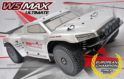 MCD Racing W5 Short Course MAX Ultimate - Rolling Chassis