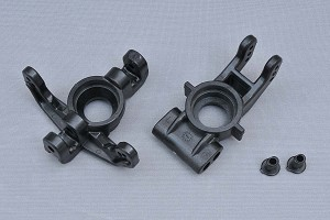 MCD Racing Front and Rear Hub Set with Toe-Inserts.