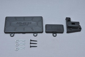 MCD Racing Battery and Receiver Box Lids. 2pcs