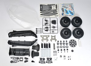 MCD Racing XS5 to RR5 Comp. Spec Conversion Kit.