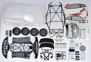 MCD Racing RR5 to X5 Rally FT Spec Conversion Kit