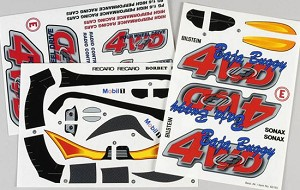 FG Stickers Buggy 4WD RTR