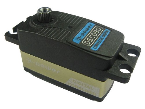 K-Power DSC090 Digital Coreless Servo. 9.3Kg / 0.08s. Low Profile