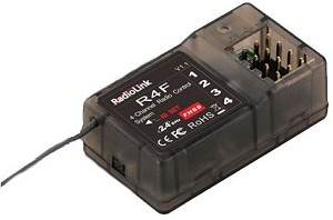 RadioLink R4F 4 Channel Receiver for RC3S/RC4G,RC4GS/T8FB