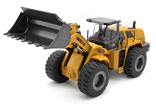 Huina Alloy 10 Channel  1/14 Scale Wheeled Loader #1583