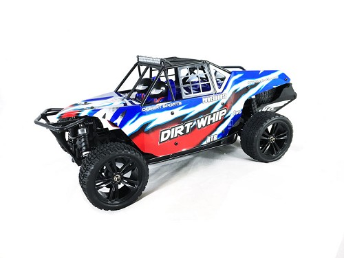 Himoto Dirt Whip 1/10 4WD RC Desert Buggy - Brushed RTR #E10DB